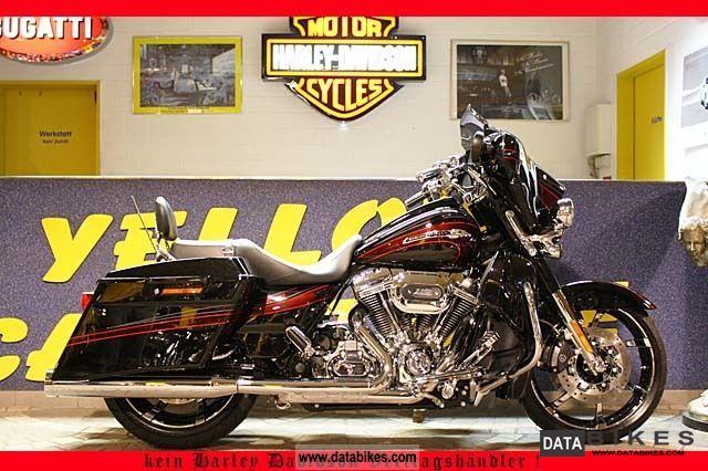 2011 Harley Davidson  FLHXSE2 CVO Street Glide Screamin 'Eagle V & H Motorcycle Chopper/Cruiser photo