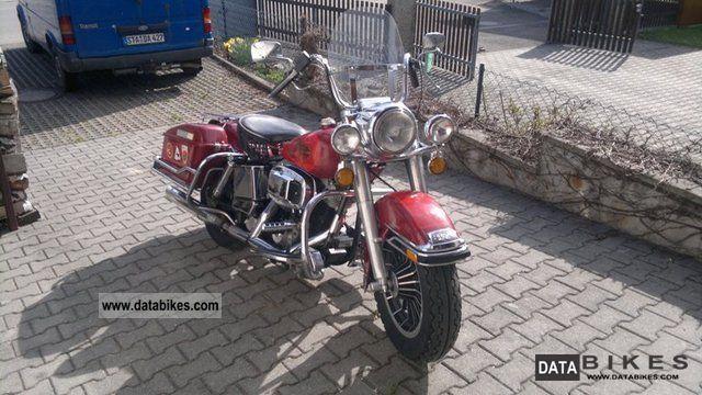 1981 Harley Davidson  FLH Electra Glide Classic Motorcycle Tourer photo