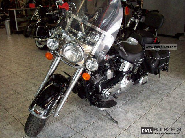 2004 Harley Davidson  Heritage Softail Motorcycle Chopper/Cruiser photo