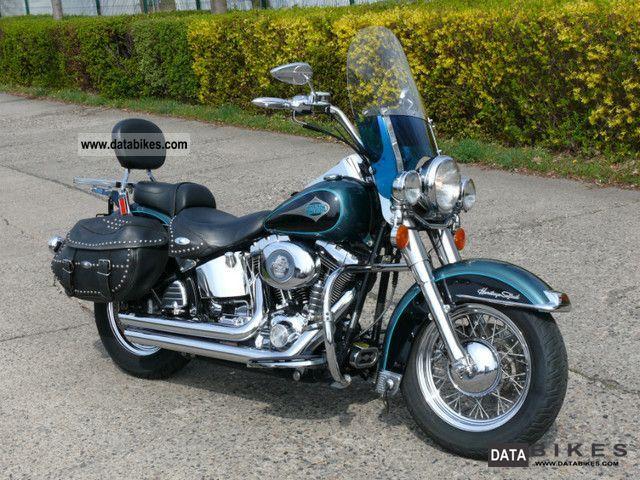 2000 Harley Davidson  Heritage Softail! very neat! Motorcycle Chopper/Cruiser photo