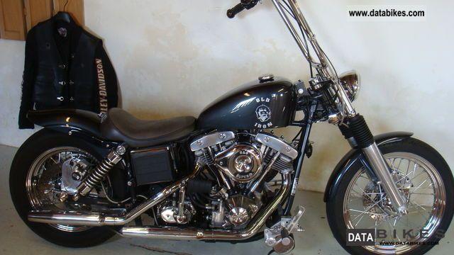 1981 Harley Davidson  shovel Motorcycle Chopper/Cruiser photo