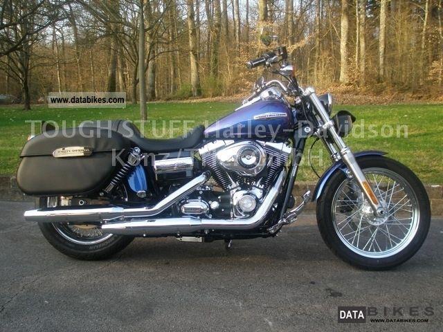 2010 Harley Davidson  FXDC Dyna Super Glide Custom with accessories Motorcycle Chopper/Cruiser photo