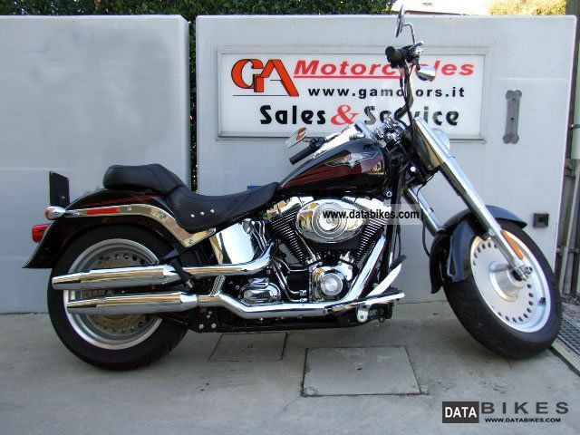 2007 Harley Davidson  Softail Fat Boy MY2007 Motorcycle Chopper/Cruiser photo