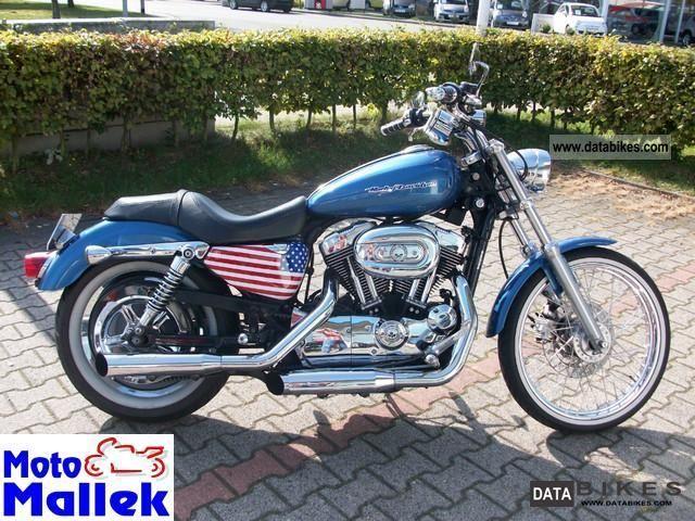 2004 Harley Davidson  XL 1200 C \ Motorcycle Chopper/Cruiser photo