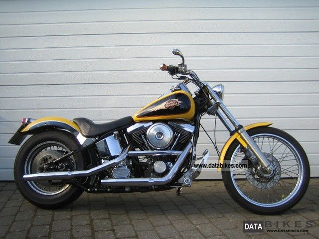 1995 Harley Davidson  Softail Custom Motorcycle Chopper/Cruiser photo