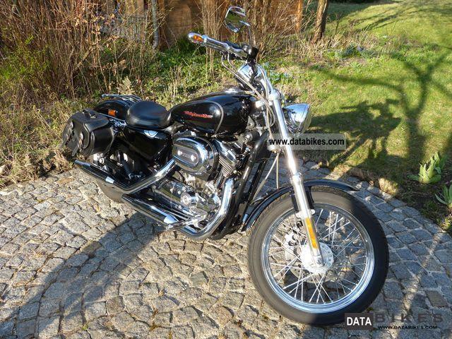 2005 Harley Davidson  Sportster 1200 Custom Motorcycle Chopper/Cruiser photo