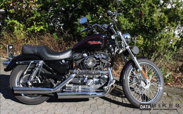 2001 Harley Davidson  XL1200C Motorcycle Chopper/Cruiser photo