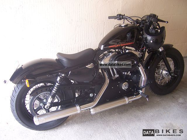 2011 Harley Davidson  fortyeight 48 \ Motorcycle Chopper/Cruiser photo