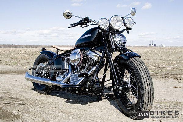 Harley Davidson  Bobber Springer FLSTS Heritage 2005 Chopper/Cruiser photo