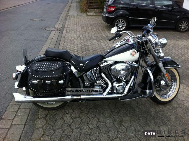 2001 Harley Davidson  Heritage Softail Motorcycle Chopper/Cruiser photo