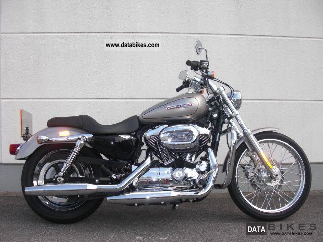Harley Davidson  XL 1200C Sportster 1200 Custom * 1A * 2008 Chopper/Cruiser photo