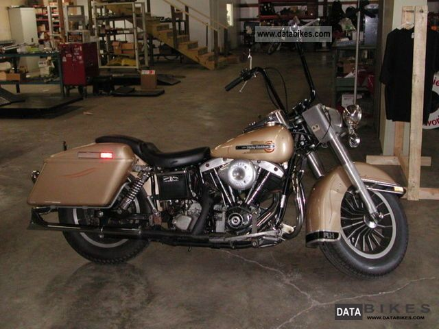 Harley Davidson  flh 1979 Vintage, Classic and Old Bikes photo