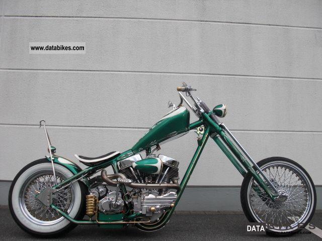 2007 Harley Davidson  FL Bike Farm Luck Gamblers $ $ Motorcycle Chopper/Cruiser photo