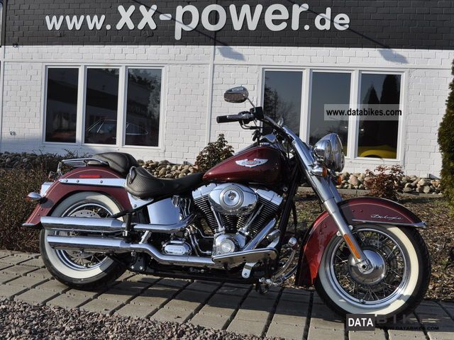 2008 Harley Davidson  Softail DeLuxe NR663 Motorcycle Chopper/Cruiser photo