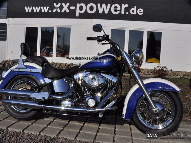 2007 Harley Davidson  Softail DeLuxe NR611 Motorcycle Chopper/Cruiser photo