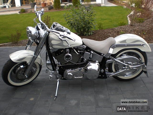 2005 Harley Davidson  Fatboy Motorcycle Chopper/Cruiser photo