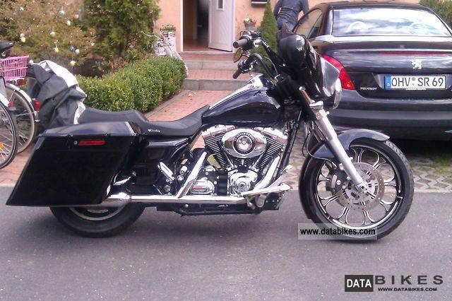 2007 Harley Davidson  Excavator Street GlideFLHX Motorcycle Chopper/Cruiser photo