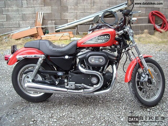 2003 Harley Davidson  883R Sportster XL883R Motorcycle Motorcycle photo