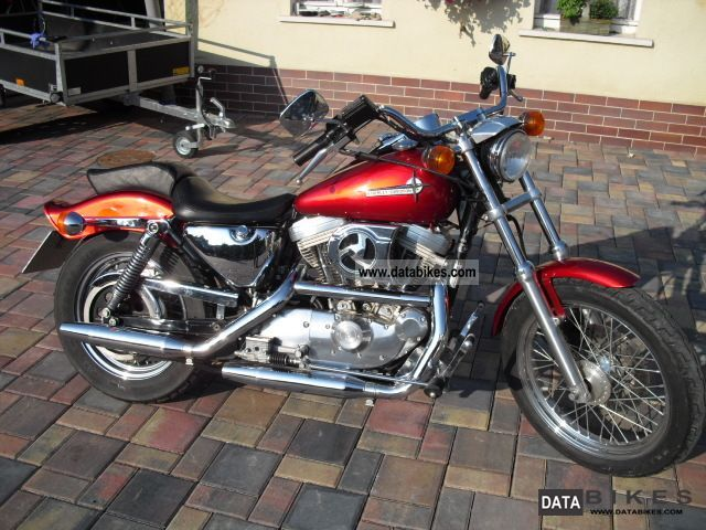 1994 Harley Davidson  Sportster 883 XL2 Motorcycle Chopper/Cruiser photo