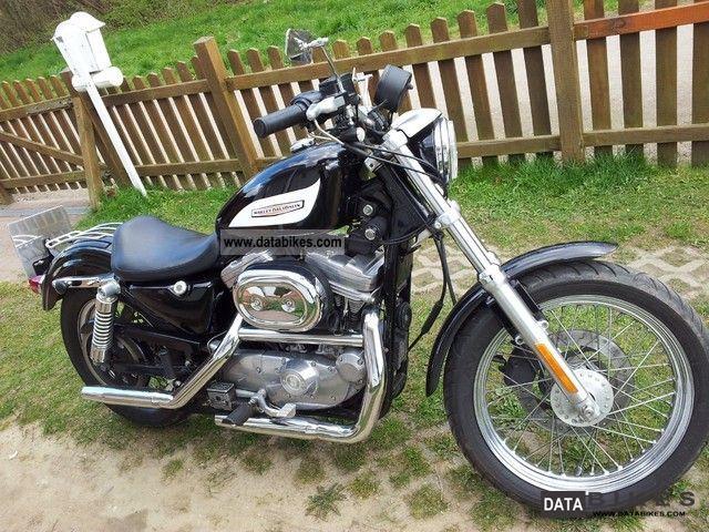 2000 Harley Davidson  XLH 883 Hugger Motorcycle Chopper/Cruiser photo