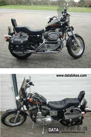 1993 Harley Davidson  Sportster 1200 Evolution XL / 2 Motorcycle Chopper/Cruiser photo