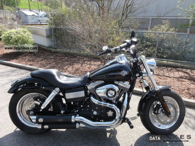 2010 Harley Davidson  -Later Dyna Fat Bob Motorcycle Chopper/Cruiser photo