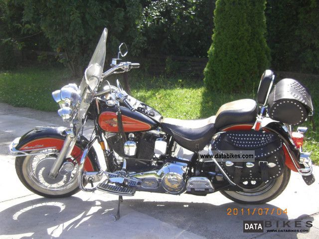 1993 Harley Davidson  Haritage Softail Classic Motorcycle Chopper/Cruiser photo