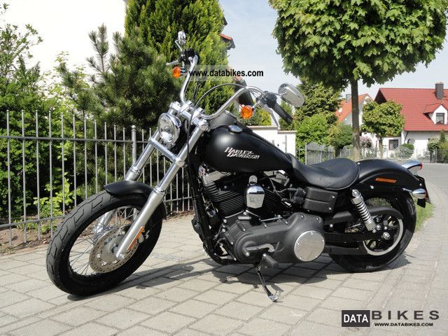 2011 Harley Davidson  Street Bob | FXDB DYNA | Black Denim Motorcycle Chopper/Cruiser photo