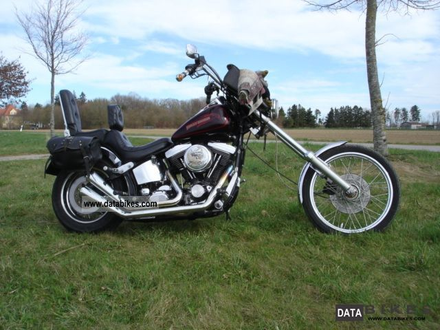 1991 Harley Davidson  FXSTC Motorcycle Chopper/Cruiser photo