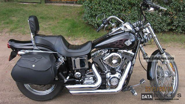 2004 Harley Davidson  FXDWG Motorcycle Chopper/Cruiser photo