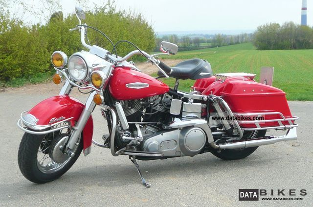 Harley Davidson  FLH Electraglide 1967 Vintage, Classic and Old Bikes photo