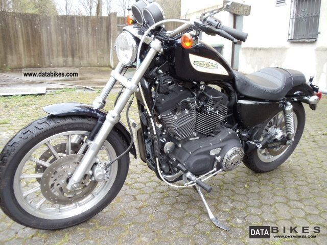 2008 Harley Davidson  Sportster XL 1200 R Motorcycle Chopper/Cruiser photo