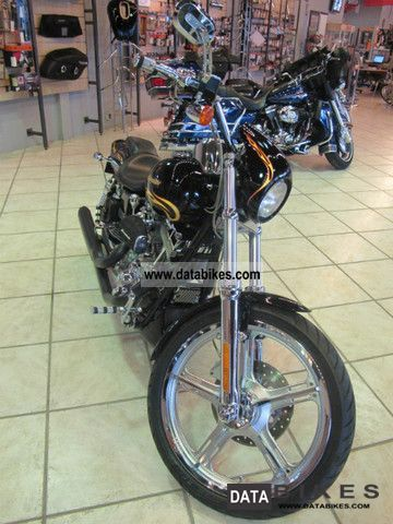 2002 Harley Davidson  FXDWG Dyna Wide Glide CVO Motorcycle Chopper/Cruiser photo