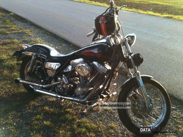 1986 Harley Davidson  FXR (USA) Motorcycle Chopper/Cruiser photo