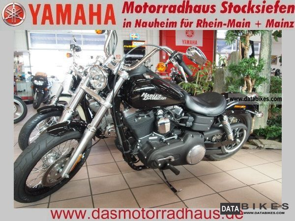2010 Harley Davidson  FXDB DYNA Streetbob Motorcycle Chopper/Cruiser photo