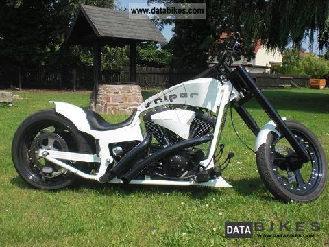 2007 Harley Davidson  Drag style roll-top look! 35000euro Wertgutacht Motorcycle Chopper/Cruiser photo