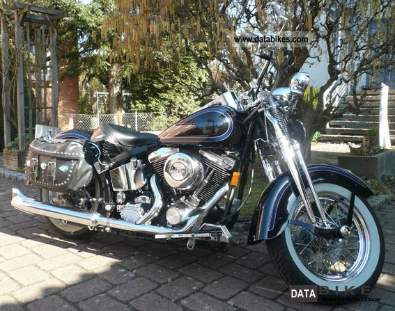 1999 Harley Davidson  FLSTS Heritage Springer Motorcycle Motorcycle photo