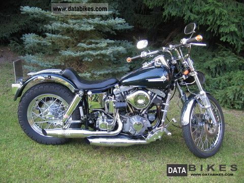 Harley Davidson  FLH Shovelhead 1958 Vintage, Classic and Old Bikes photo