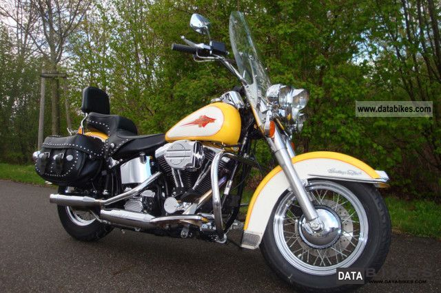 1995 Harley Davidson  FLSTC Heritage Softail Classic Ricks Motorcycle Chopper/Cruiser photo