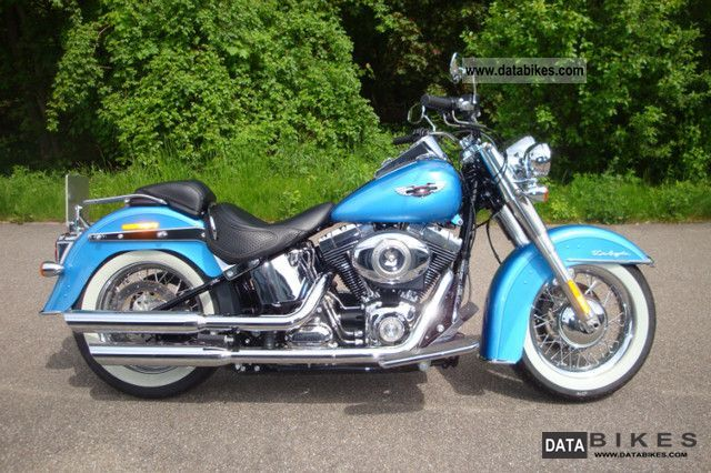 2011 Harley Davidson  FLSTN Softail Deluxe Ricks Motorcycle Chopper/Cruiser photo
