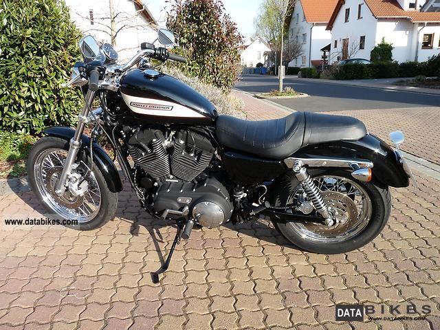 2007 Harley Davidson  XL 1200 R Sportster Roadster Kesstech ... Motorcycle Chopper/Cruiser photo