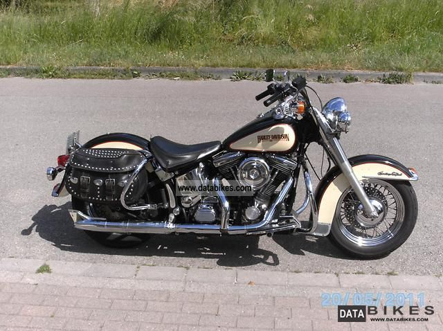 1989 Harley Davidson  Heritage Softail Classic Motorcycle Chopper/Cruiser photo