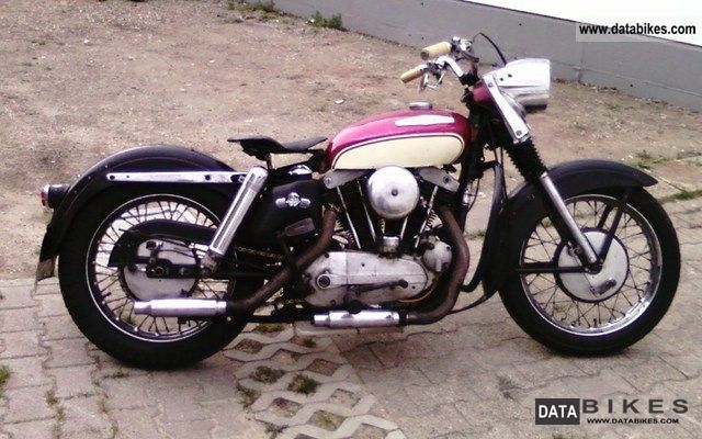 Harley Davidson  Sportster XLH 900 1959 Vintage, Classic and Old Bikes photo