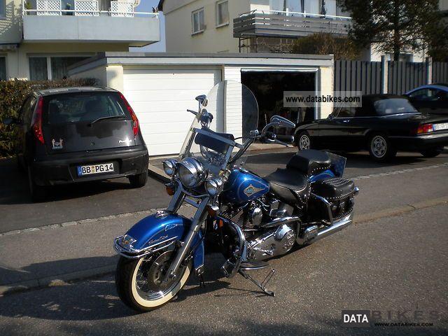1997 Harley Davidson  FXST / FLST Motorcycle Chopper/Cruiser photo