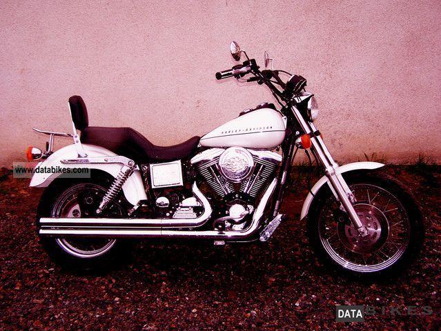 1998 Harley Davidson  Harle Davidson Dyna EVO Motorcycle Chopper/Cruiser photo