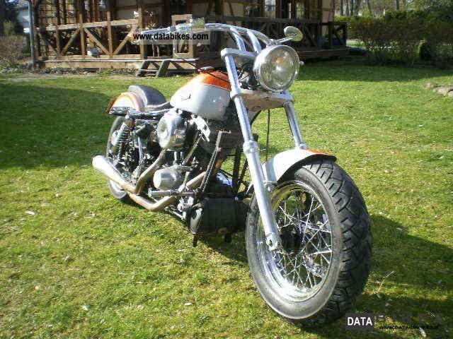 Harley Davidson  fl 1978 Vintage, Classic and Old Bikes photo