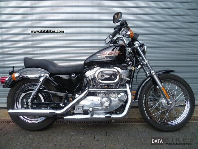 2001 Harley Davidson  XLH 883 Sportster Hugger 10000km! Dream state! Motorcycle Chopper/Cruiser photo