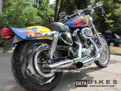 2004 Harley Davidson  Sportster / Custom / Screamin Eagle Motorcycle Chopper/Cruiser photo