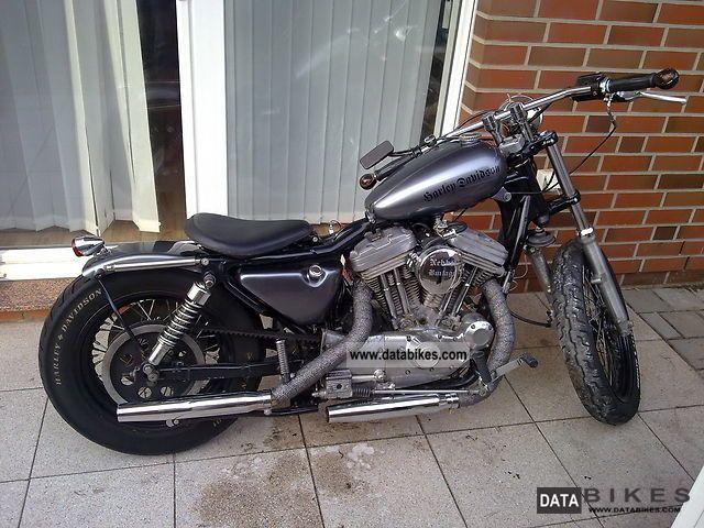 1993 Harley Davidson  XL 2 Motorcycle Chopper/Cruiser photo