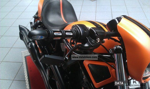 Moto Harley Davidson Vrod Vrscdx Night Rod Special Orange: 2010 Harley Davidson VRSCDX Night Rod Special Black Orange